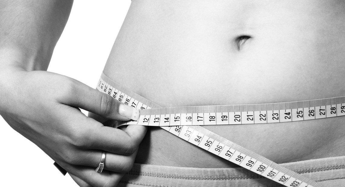 Les vergetures blanches liées à la prise de poids