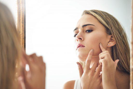 problème acné