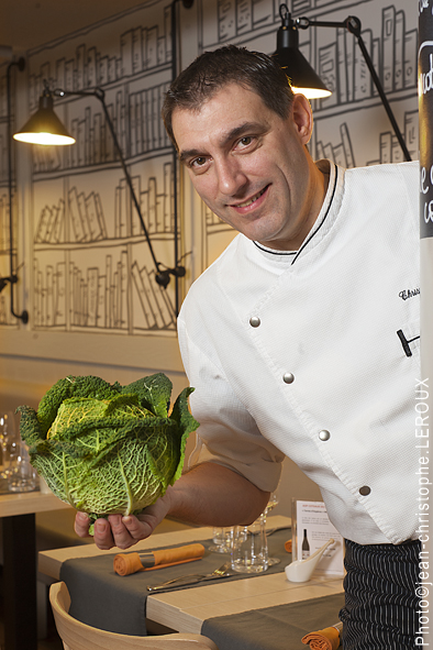 Christophe Teillet du restaurant l'Atable