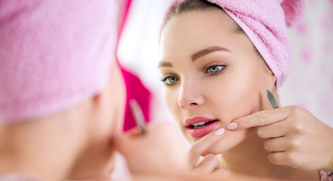Conseils peau acné