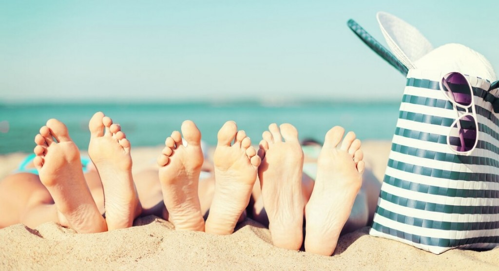 Prendre soin de ses pieds pour la plage