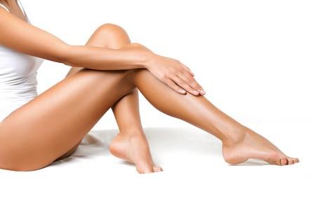 jambe rasage poil peau bouton