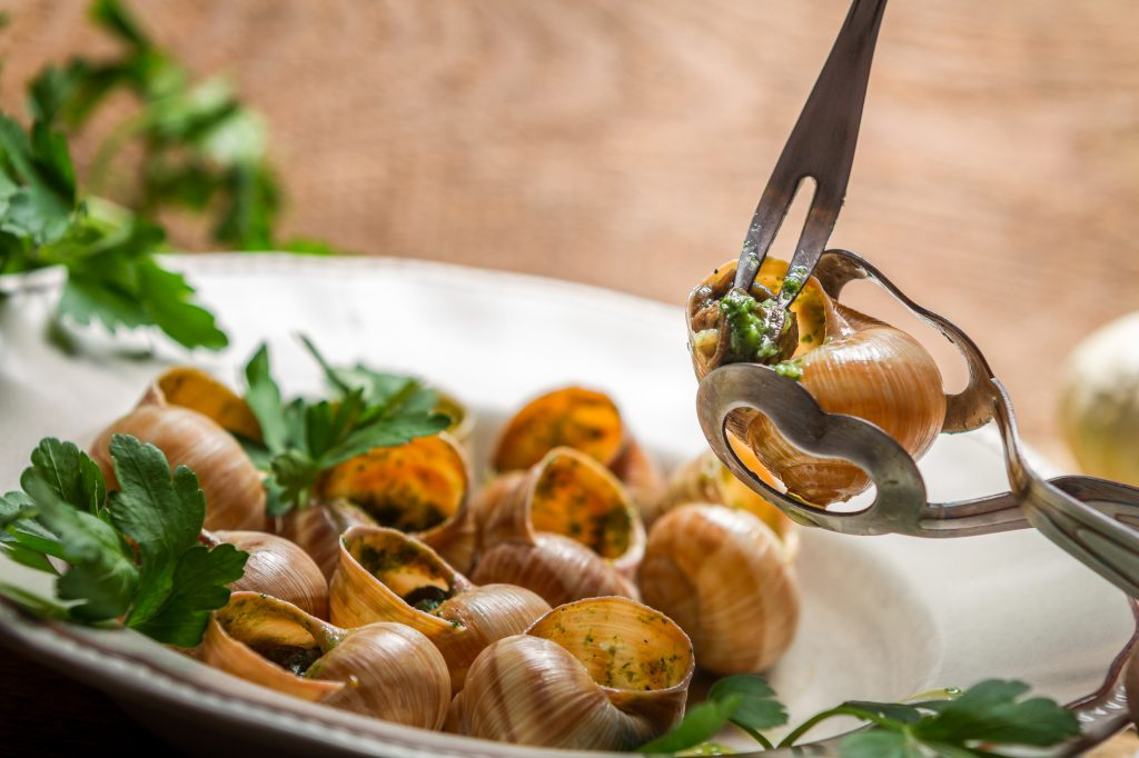 cuisson escargot