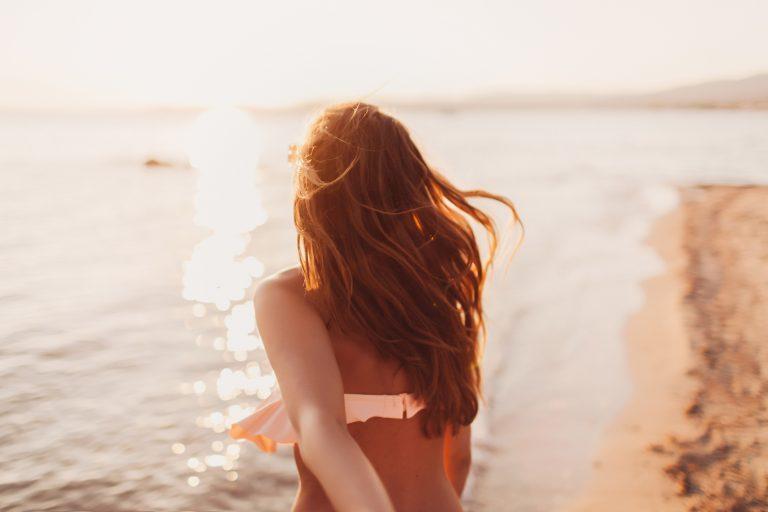 cheveux été soleil