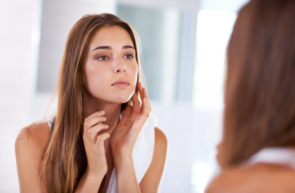 routine peau sensible
