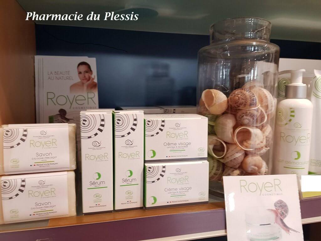 royer cosmétique pharmacie du plessis